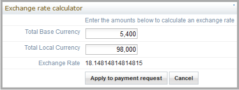 ExchangeRateCalculator